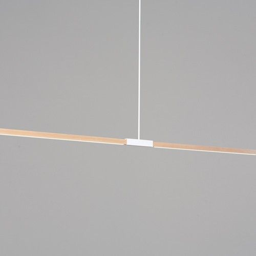 Trend  Foot Linear Pendant Led LampMatte