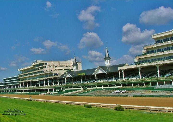Churchhill Downs, Louisville, KY. My family visited here for a wedding in Louisville and this is the only thing I remember about that trip. (Early 2000s?)