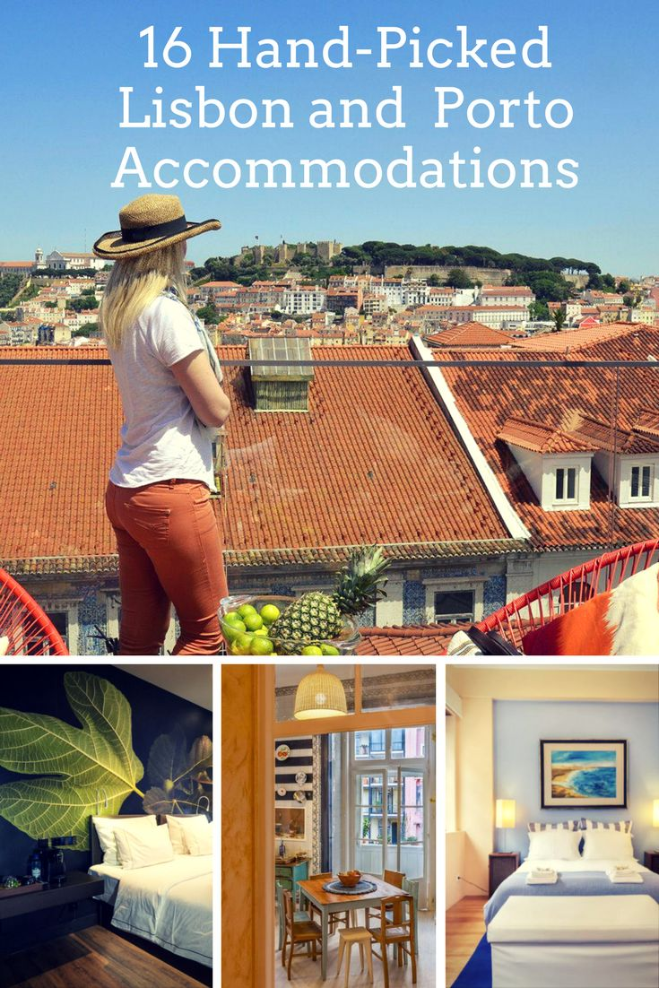 Find out the best 16 hand-picked Lisbon and Porto accommodations. They were specially chosen by me to suit every budget.