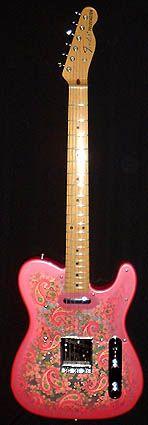 17 best images about guiters fender telecaster james burton s pink paisley telecaster