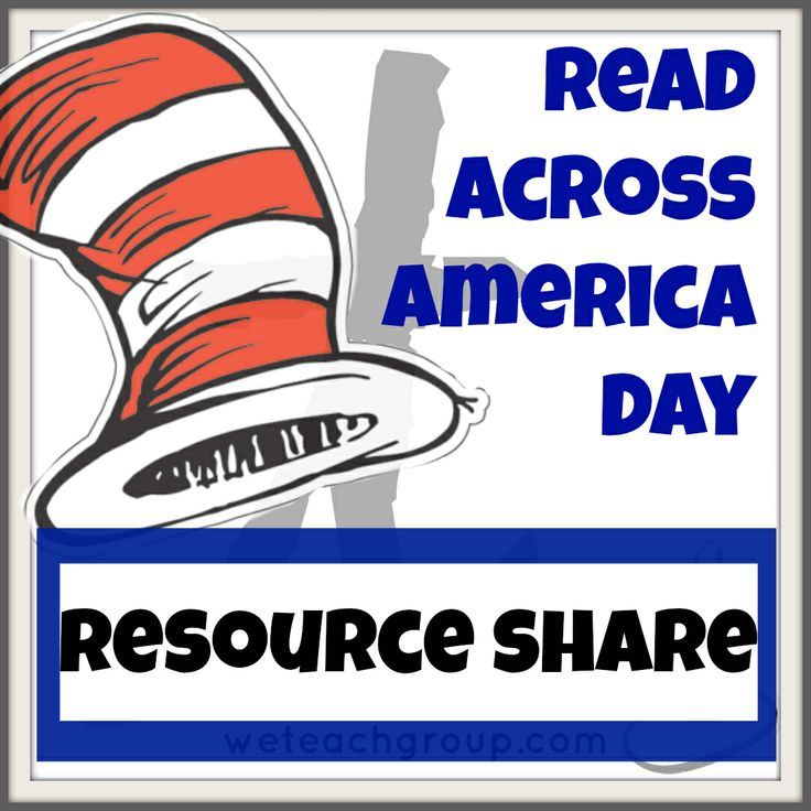 Read Across America Resources with @we teach members.  Includes Dr. Seuss Activities and Reading Tips