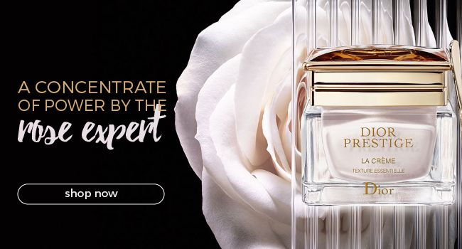 Dior Prestige concentrates the extraordinary power of the Rose de Granville. It delivers exceptional regeneration and perfection to all layers of the skin.