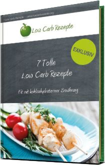 Gratis Low Carb Rezepte E-Book