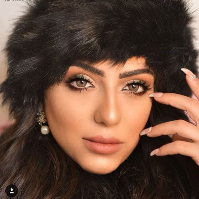عدسات براون Beauty Women Beauty Black Hair