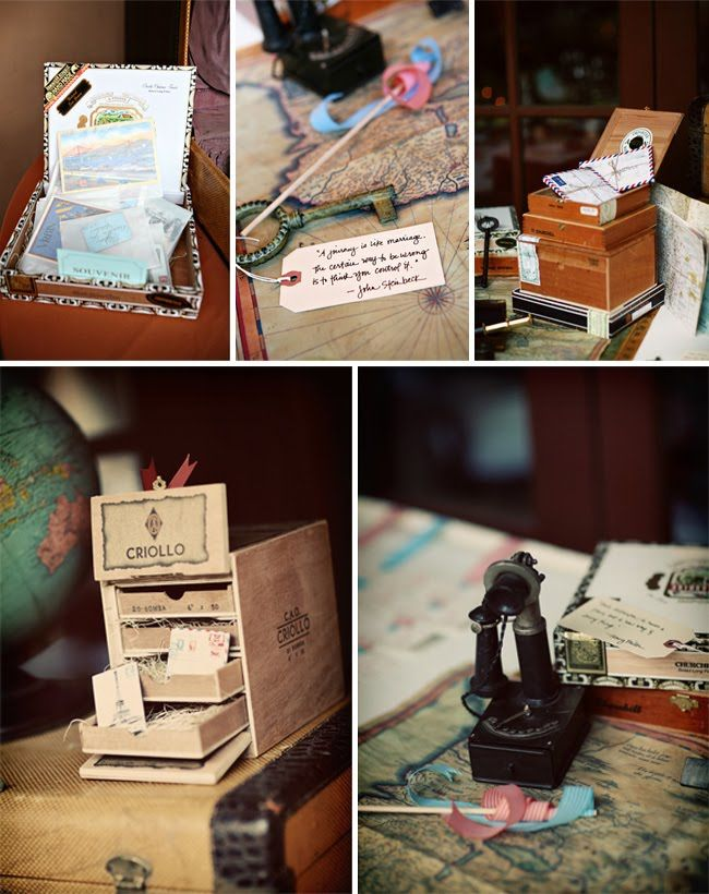 122 best wedding travel theme images on pinterest marriage we are just smitten for a travel theme wedding because of all of the lovely details it has check out all of these gorgeous ideas inspiration junglespirit Gallery