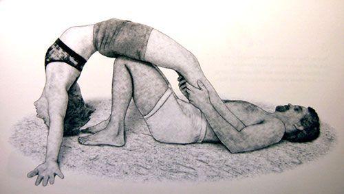 Awesome!! Partner Yoga Pose: Grounded Backbend