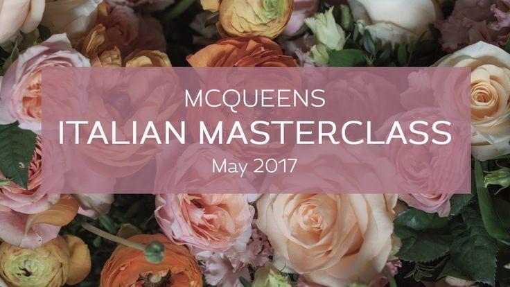 McQueens Italian Masterclass | flowerona TV