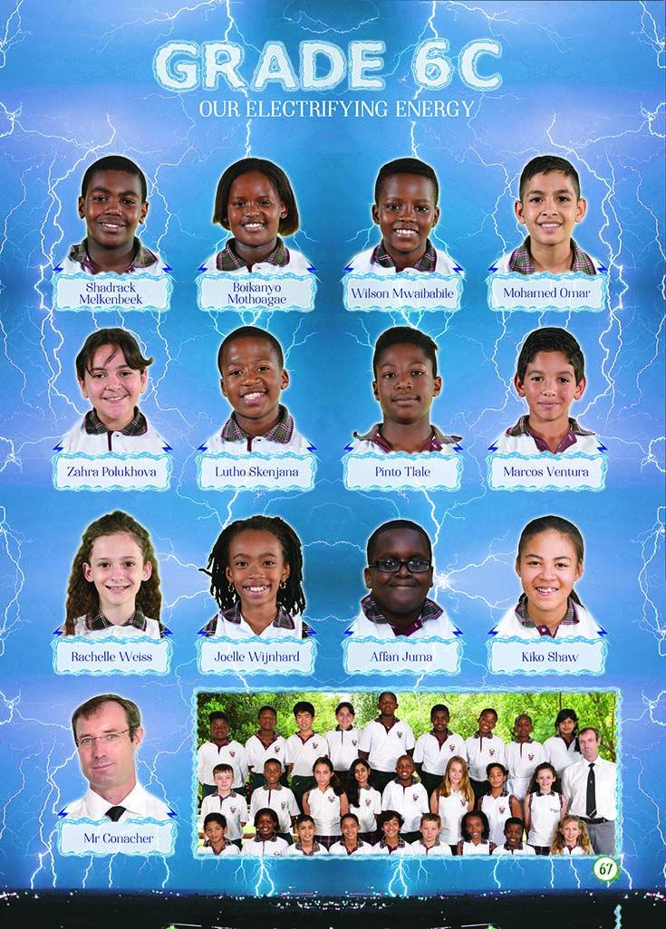 Yearbook Theme: Ecosystem - Grade 6 (lightning)