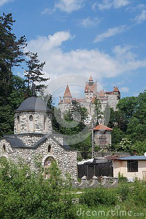 Bran Castle, also know as Dracula`s Castle, Brasov,  Romania