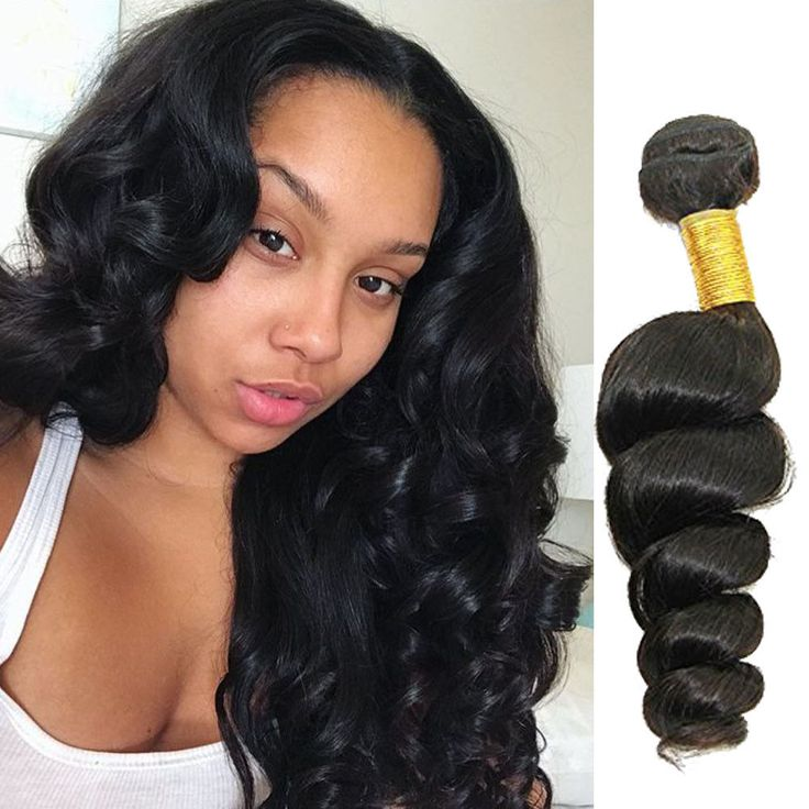 "12""14""16"" Brazilian Real Human Hair Extension Loose Wave Hair Weft 3Bundles 150g #Unbranded #WaveBundle"