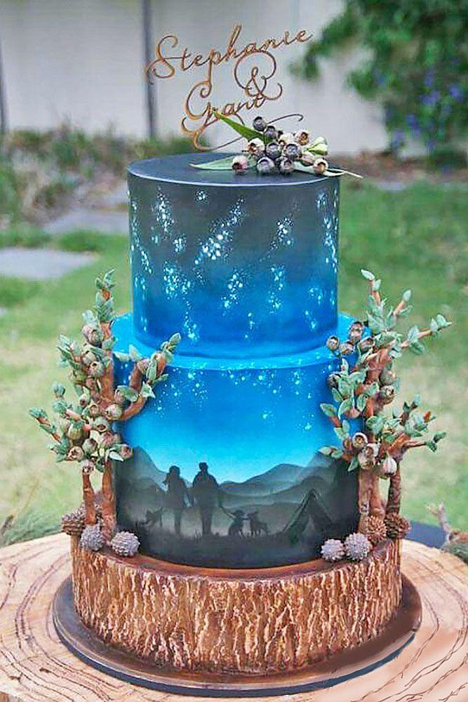 42 Eye Catching Unique Wedding Cakes Wedding Cakes