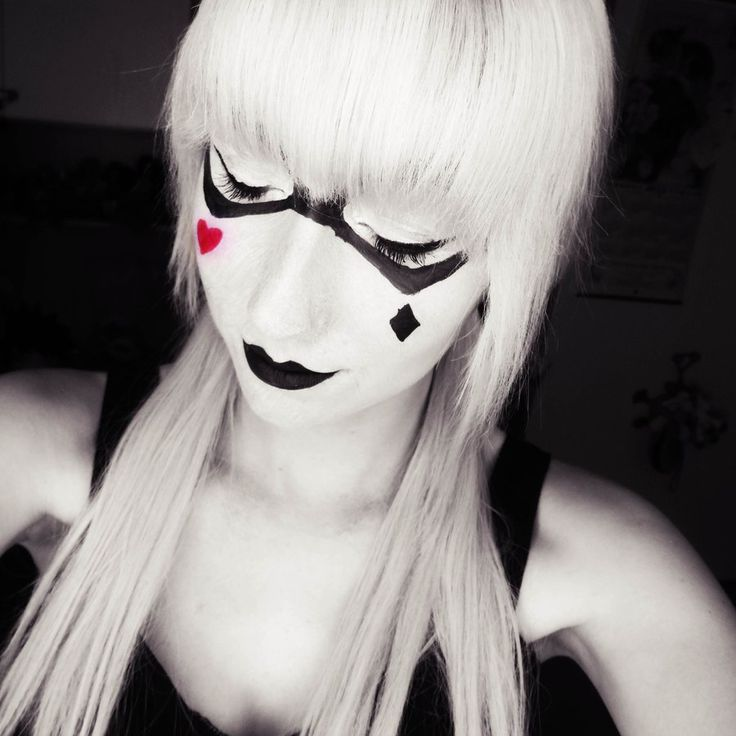 harly quinn makeup | Harley Quinn - MakeUp 2nd by ~Lisuka on deviantART