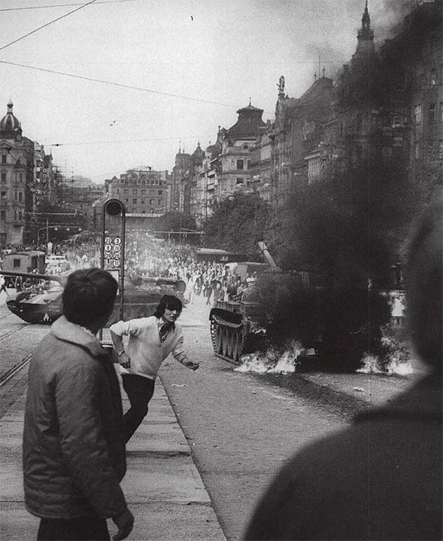 Prague Spring in 1968