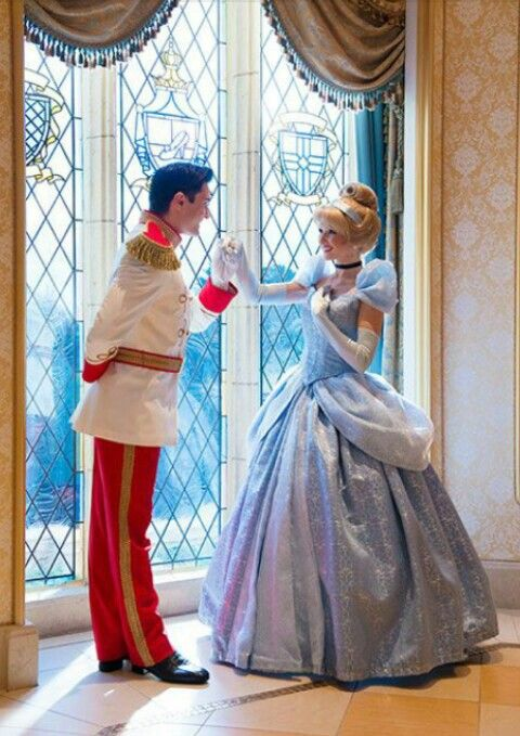 Cinderella and her prince
