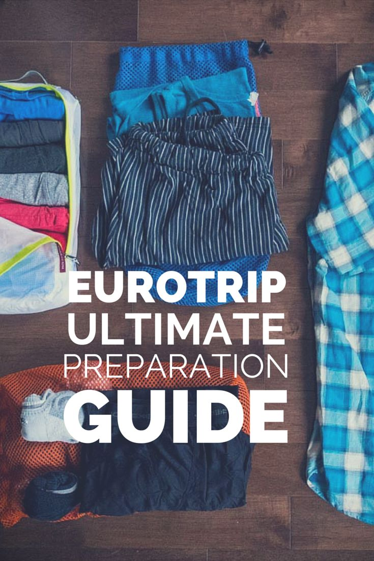 Everything you need to know about what to pack for that backpacking trip to Europe.