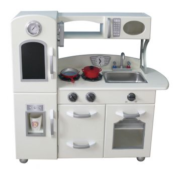 The Country Living Childrens Wooden Kitchen is also available in White