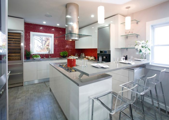 Red Kitchen Backsplash | HOW TO USE RED WITH YOUR KITCHEN BACKSPLASH | Ferrarini  Kitchens .