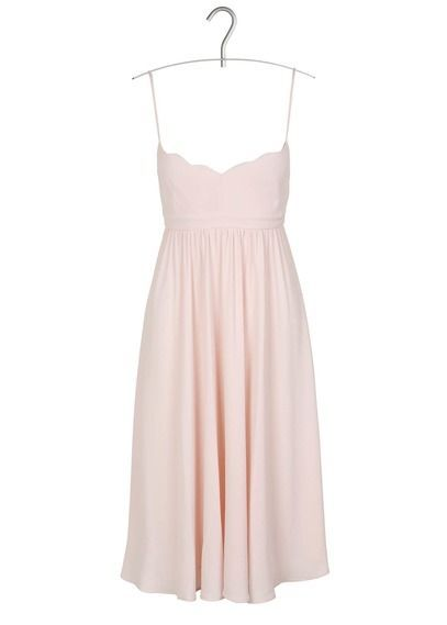 Robe claudie pierlot rose pale