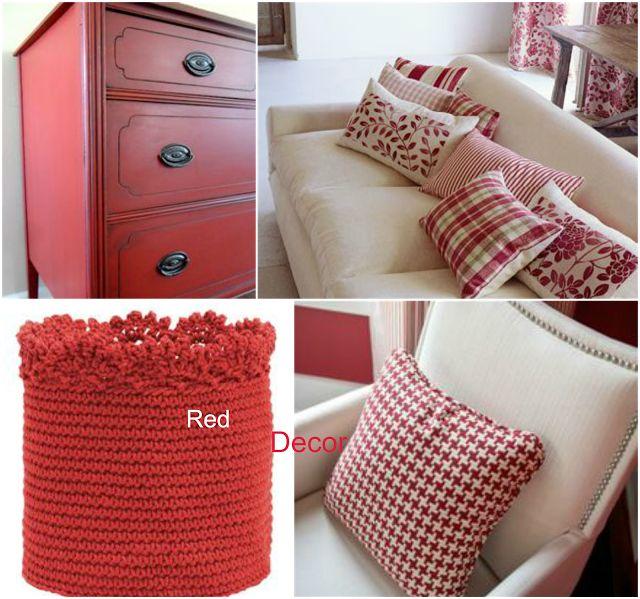 """Ιδέες για διακόσμηση: Το """"τολμηρό"""" κόκκινο χρώμα στη διακόσμηση!"""