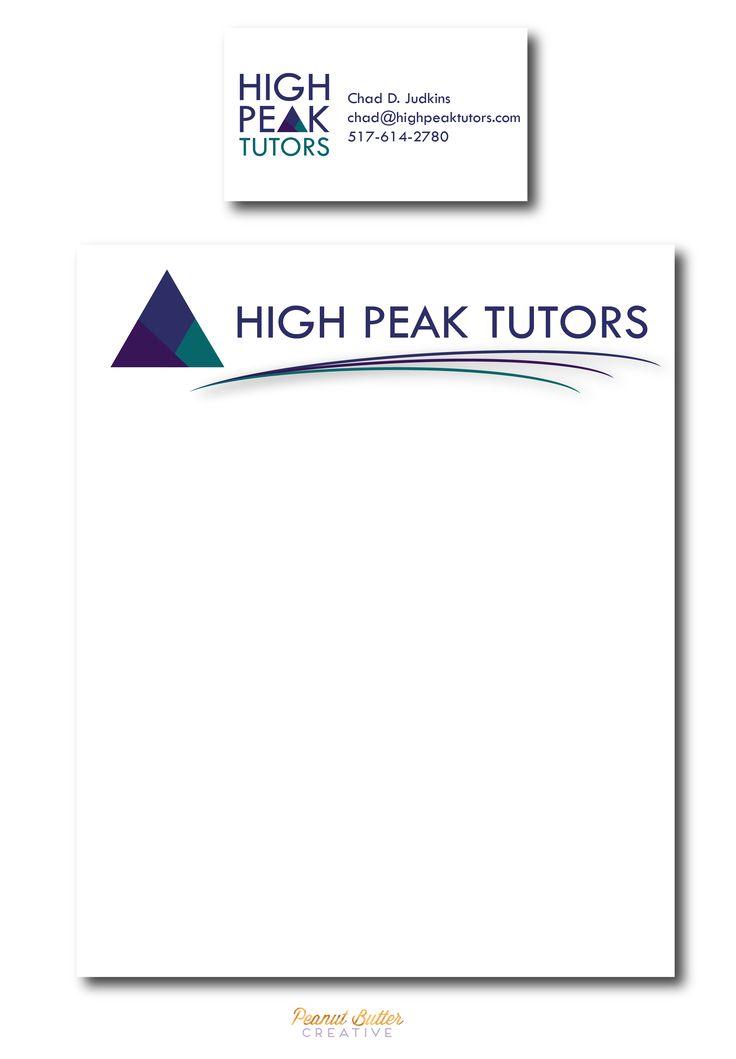 Tutor letterhead, professional letterhead, tutor business card