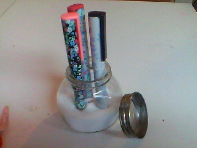 pennen in zout heel gemakkelijk om te maken