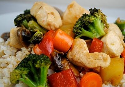 Sweet and Sour Chicken: Fat Girls, Easy Chicken Recipes, Asian Recipes, Skinny Bodies, Sweets, Skinny Body, Cooking Recipes, Sweet Sour Chicken