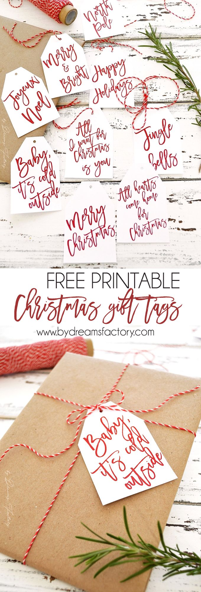228 best freebies printables images on pinterest free printables free printable christmas gift tags negle
