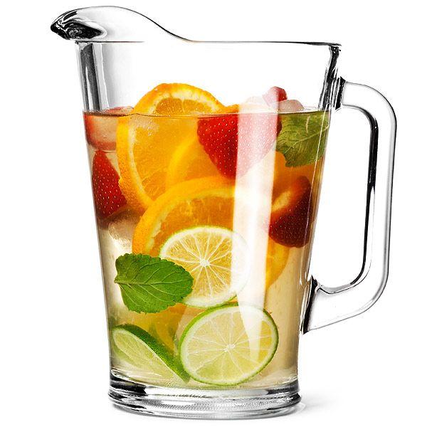 Mexico Jug 59.9oz / 1.7ltr | Glass Water Jugs  - Buy at drinkstuff
