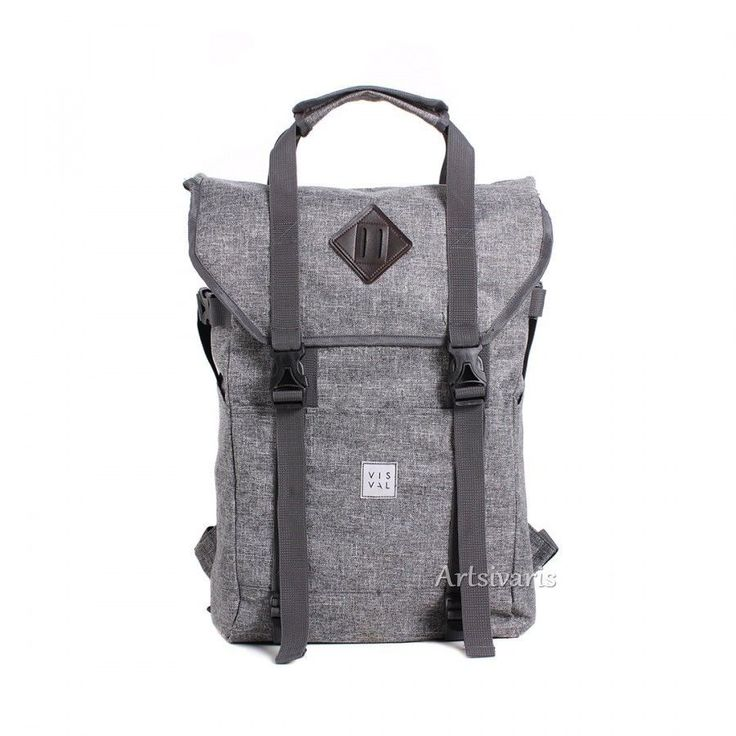 "Stylish Poly 15"" Laptop Waterproof Backpack Awesome Travel Sport Vintage Bag 