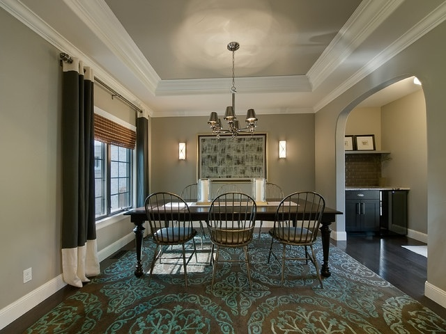 Painted Tray Ceiling