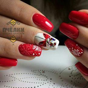 Ногти дизайн 2016 фото | Christmas nails, Nail art designs ...