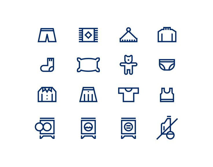 Some of the icons I've designed recently.