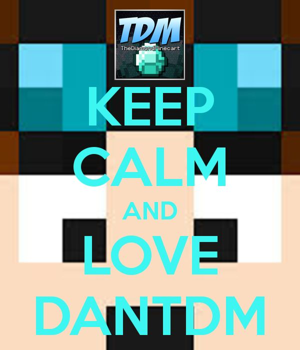 DanTDM | This is my favorite youtuber The Diamond Minecart or DanTDM