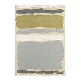 Sanderson Abstract Linden/Silver Rug