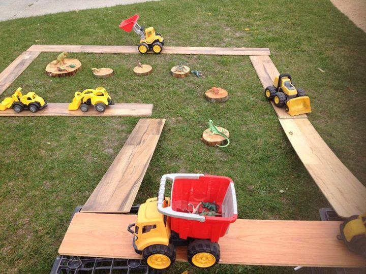 "Trucks, dinosaurs & ramps at St Helens District High School Kindergarten ("",)"