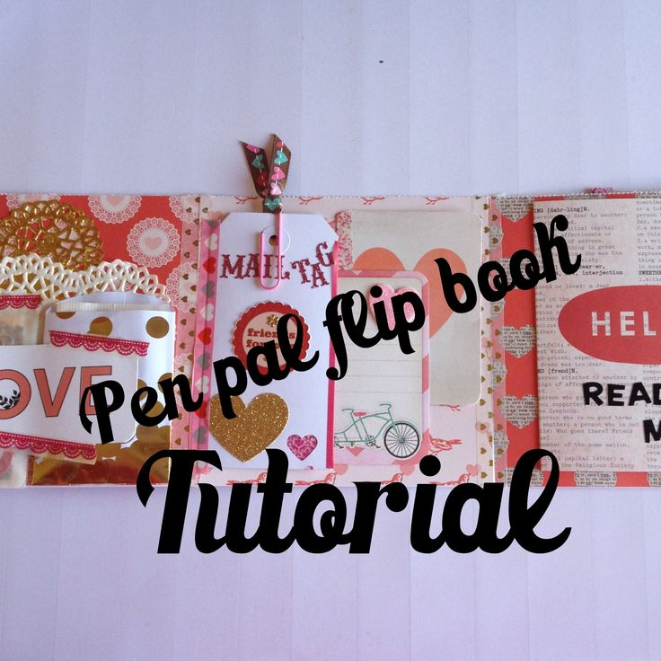 Thanks so much for watching! These Pen Pal flip books are so much fun!! I think I'm addicted! xo Amber Here's the video on my completed flip book: https://ww...