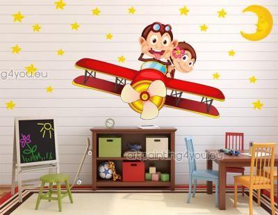 Väggdekor Barn - Wall Stickers Barnrum, Väggdekaler, Väggdekoration Barn
