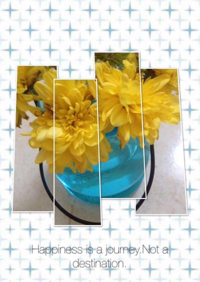 Beautiful self decorated mason jars
