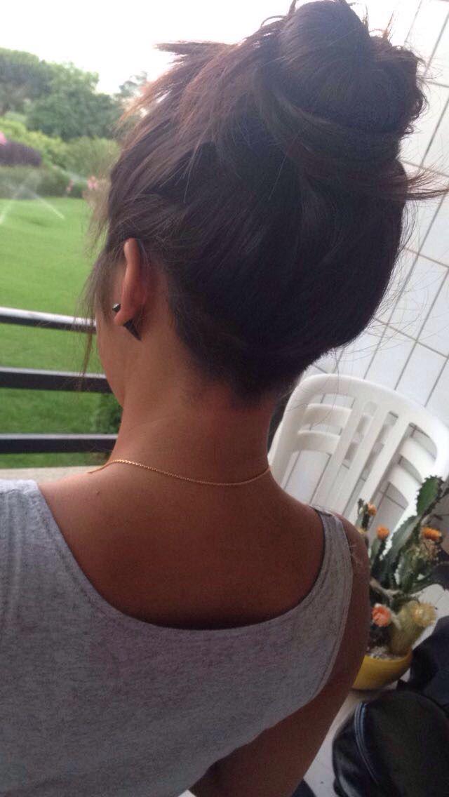 Nuque rasé · Coupe De CheveuxNuque