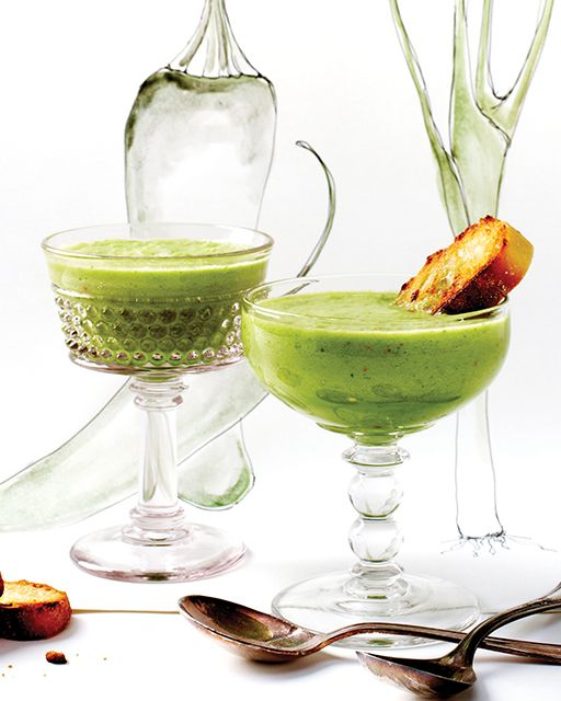 Spicy Cucumber Gazpacho: Great recipes and more at http://www.sweetpaulmag.com !! @Sweet Paul Magazine
