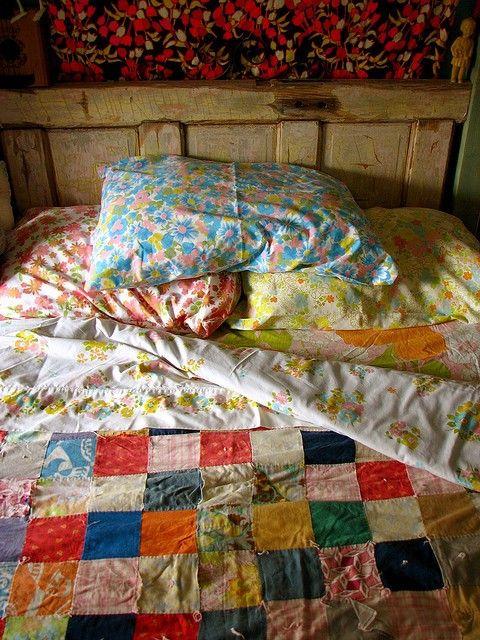 vintage bedding