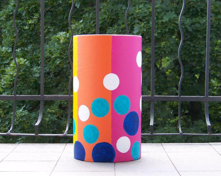 Třetí buben - zakázka pro hudebnici. * #ladylu #art #painting #drum #interior #exterior