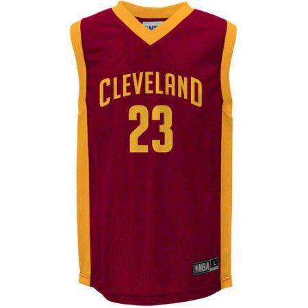 NBA Cleveland Cavaliers LeBron James Youth Team Jersey, Boy's, Size: Medium, Red