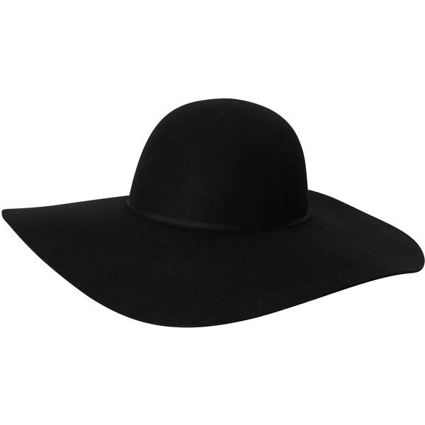 Claire hat found on Polyvore featuring accessories, hats, acessorios, hair, headwear, red floppy hat, monki, black floppy hat, floppy hat and red hat