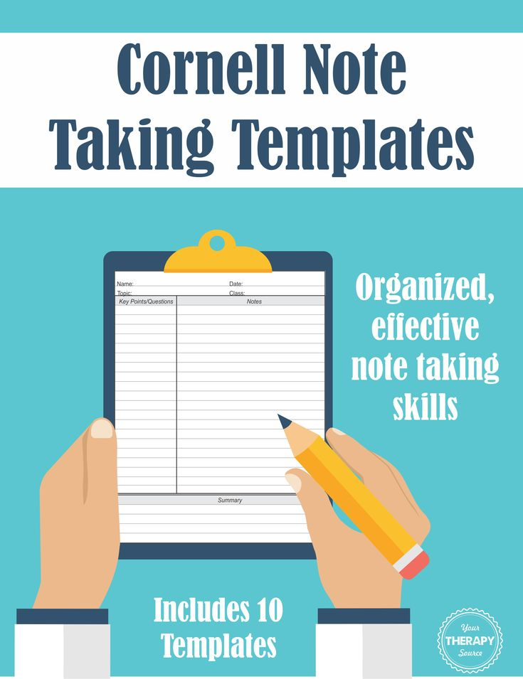 606 best Handwriting images on Pinterest Occupational therapist - cornell note taking template