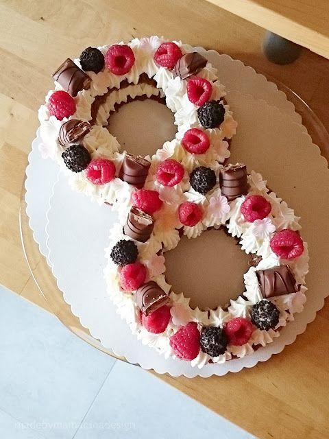 Mama Nina Ein Number Cake Zum 8 Geburtstag Mit Rezept Zum Nachbacken In 2020 Geburtstag Kuchen Kuchen Geburtstag Geburtstagstorten Rezepte