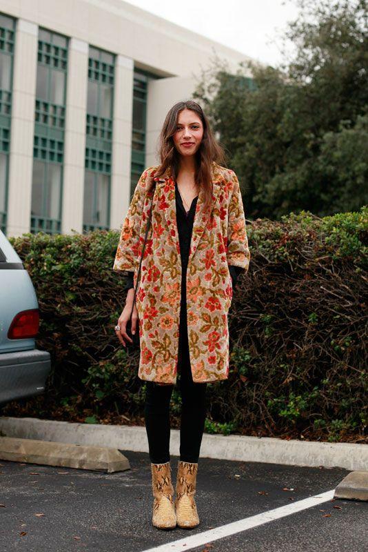 brocade_pcc by Mai Le, street style, street fashion, women, Pasadena, PCC Flea Market