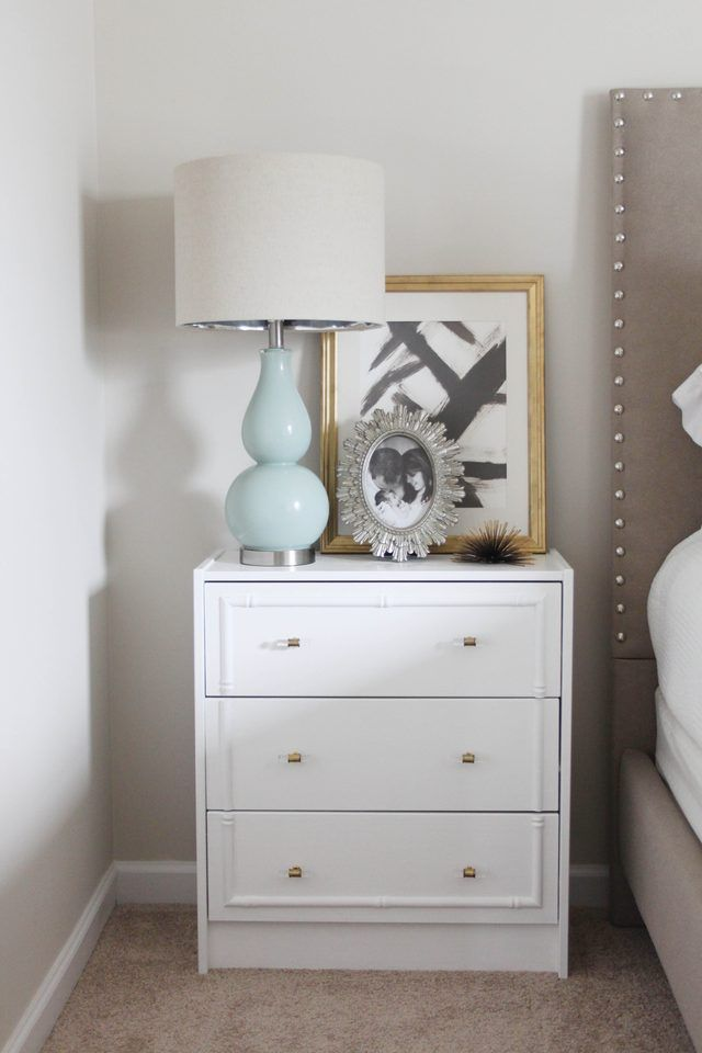 Ikea Hack... Give an IKEA Rast Nightstand a Hollywood Regency Look | eHow