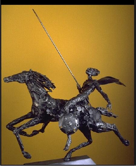 """Don Quixote"" by Boban"