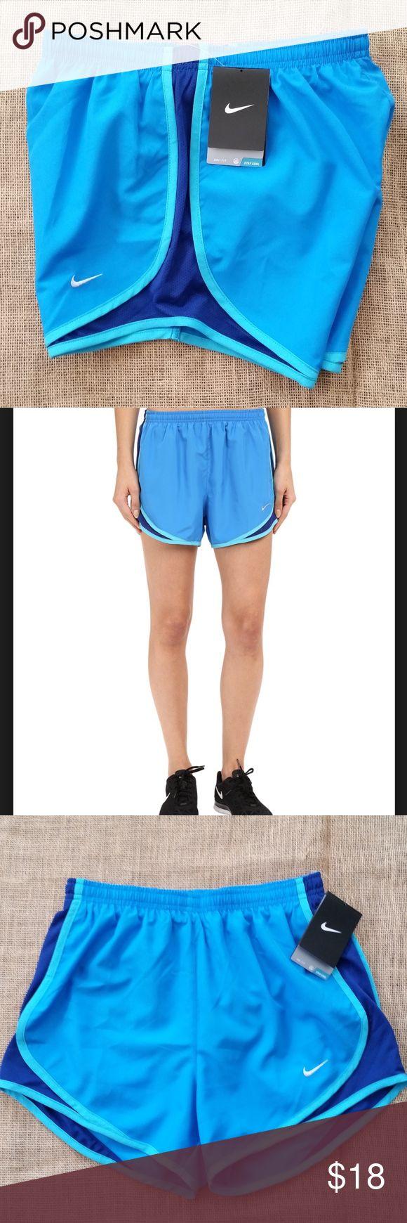 Nike Dri-Fit Shorts - Size X-Small Nike Dri-Fit Shorts Running Shorts - Size X-Small - Light Blue/Deep Royal nike Shorts